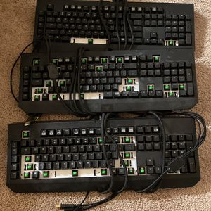 Razer Keyboard For Parts for Sale in Las Vegas, NV
