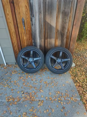 Enkei TS5 18x8 1/2 +50 Continental WinterContact SI Snow tires for Sale in Pleasanton, CA