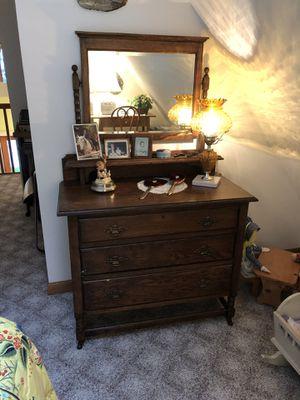 Antique Dresser. Beautiful for Sale in Northport, MI