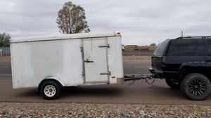 6x12 enclosed trailer for Sale in Phoenix, AZ