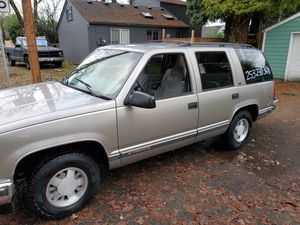 1999 Chevy Tahoe for Sale in Tacoma, WA