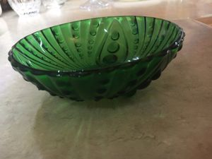 2 Green Depression glass bowls. ANTIQUE for Sale in Hendersonville, TN