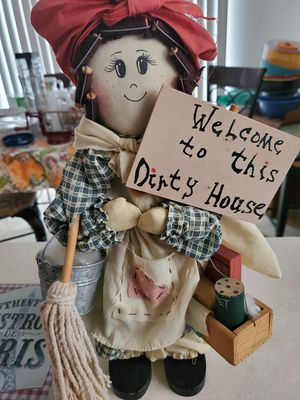 A Wooden Statue doll that nobody wants for Sale in Bolingbrook, IL