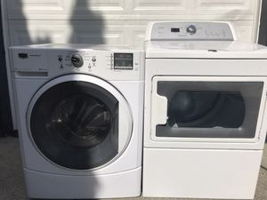 Ultra capacity washer and dryer set DELIVERY for Sale in Federal Way, WA