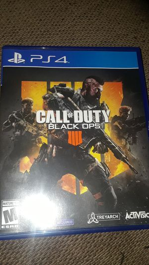 Call of Duty : Black Ops 4 for Sale in Riverside, CA