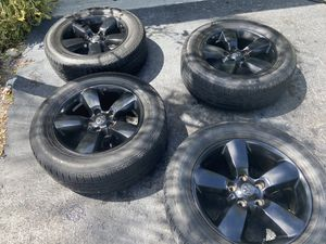 "Wheels & Tires Ram 2018 20""with original air sensors $700 for Sale in Miami, FL"