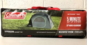 •••NEW: Coleman 6-Person Skydome Camping Tent, Evergreen••• for Sale in Mesa, AZ