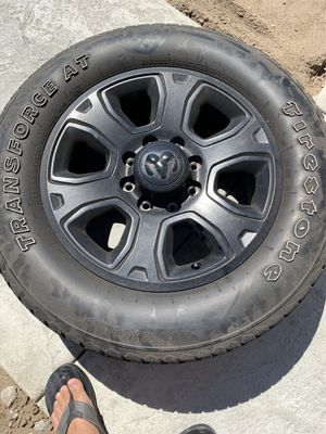 Dodge Ram wheels. 8 lugs for Sale in Manteca, CA
