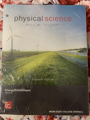 PHYSICAL SCIENCE by Bill Tillery 11th Edition for Sale in Miami, FL