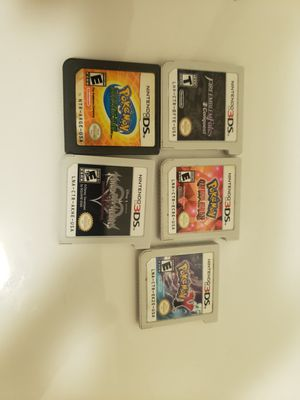 3DS games for sale pokemon fire emblem kingdom hearts ddd for Sale in Orlando, FL