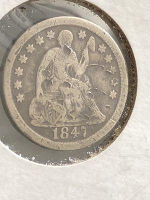 1847 Half Dime for Sale in Bay City, MI