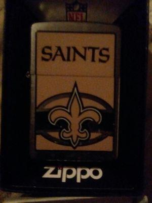 Saints zippo for Sale in Brandon, FL