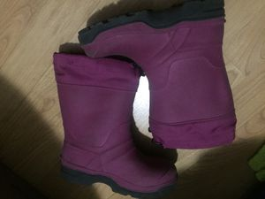 Kids size 12 boots with warm insert, rain boots to snow boots for Sale in Prospect Heights, IL