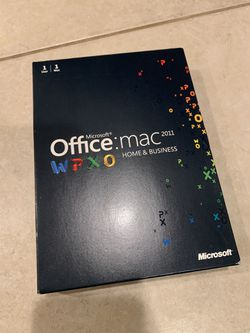 Microsoft Office Mac 2011 Home and Business for Sale in Cornelius,  OR
