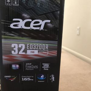 "Acer Gaming Monitor 32"" Curved for Sale in Las Vegas, NV"