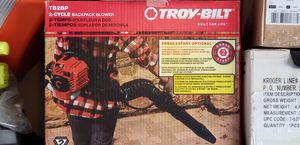 Troy-Bilt Backpack Blower for Sale in Laveen Village, AZ