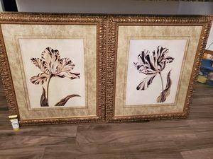 Bombay Company framed pictures Tulips for Sale in Gilbert, AZ