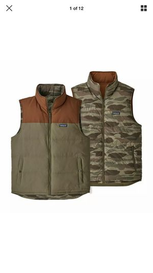 PATAGONIA BIVY REVERSIBLE DOWN VEST MENS MEDIUM for Sale in El Monte, CA