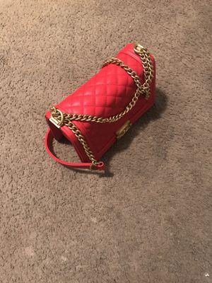 CHANEL-lambskin flap bag for Sale in Houston, TX