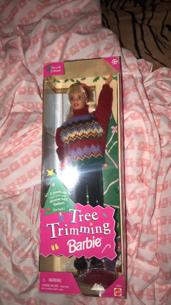 New tree trimming barbie doll