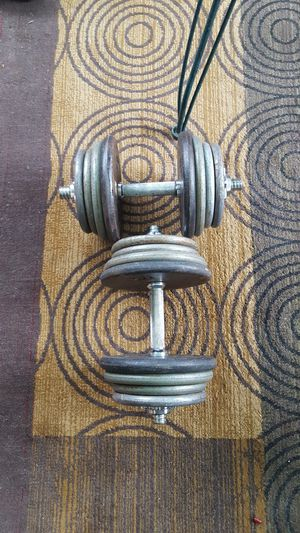 Adjustable Dumbells Set 10 - 60 for Sale in Steilacoom, WA