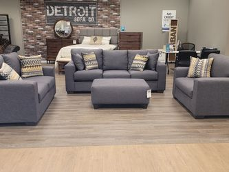 Sofa, Loveseat, Chair And A Half And Ottoman, Avaliable NOW!!! for Sale in Saint Ann,  MO