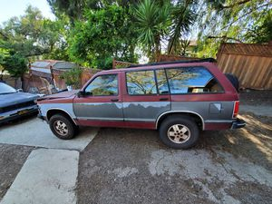 UPDATE!! Trade or sell 1992 chevy blazer 4x4 for Sale in Spring Valley, CA