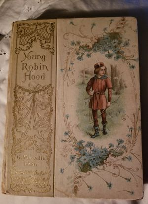 Antique children's book Young Robin Hood, 1900 for Sale in Bangor, ME