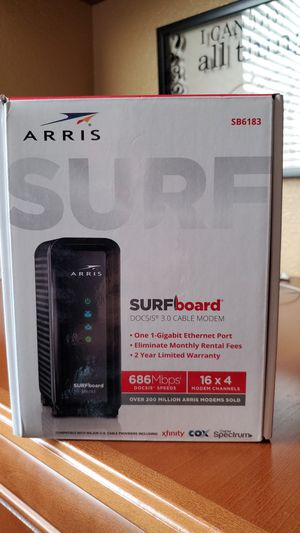 Arris SurfBoard cable modem for Sale in Dinuba, CA