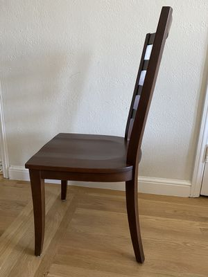 Pair of Crate and Barrel Dining Chairs for Sale in San Francisco, CA