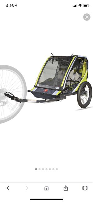 Brand New: Allen Sports 2 seat bike trailer for Sale in Bellaire, TX
