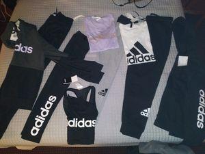 Nike and Adidas woman's leggings , sweat suits, shirts, sweater . prices vary from $15- $40 for Sale in Tacoma, WA