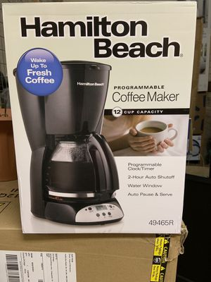 Programmable coffee maker for Sale in ARSENAL, PA