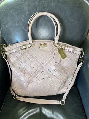 Coach bag Madison criss cross Lindsey blush leather for Sale in Surprise, AZ