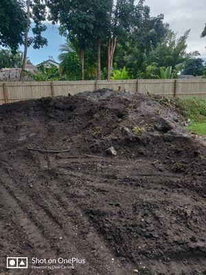 FREE Black dirt / fill for Sale in Pembroke Pines, FL