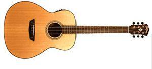 WashburnWoodline 100 Series WLO100SWEK 6-String Orchestra Semi-Acoustic Guitar, 20 Frets, Rosewood Fingerboard, Natural for Sale in Vista, CA