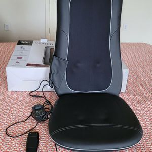 Sharper Image Heated Shiatsu massage seat for Sale in Plano, TX