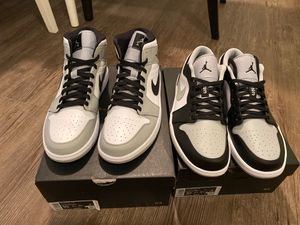 Jordan 1 low and mid for Sale in Vancouver, WA