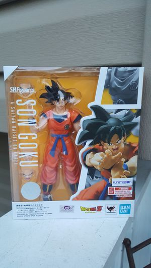 SH Figuarts Goku (a saiyan raised on earth) collectible action figures for Sale in Hanover Park, IL