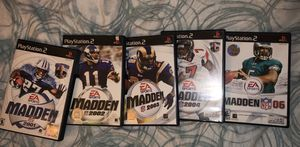 MADDEN PLAYSTATION 2 GAME COLLECTION for Sale in Upland, CA