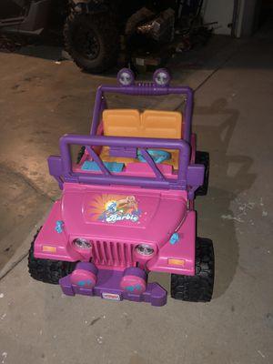 Fisher Price Barbie Jeep for Sale in Phoenix, AZ