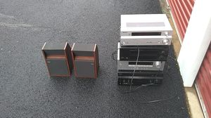 Receiver and Bose speakers for Sale in West Springfield, VA