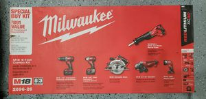 MIlwaukee 2696-26 M18 6 PIECE COMBO KIT for Sale in Denver, CO