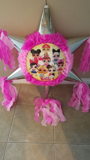 LOL SURPRISE DOLLS STAR PINATA for Sale in National City, CA