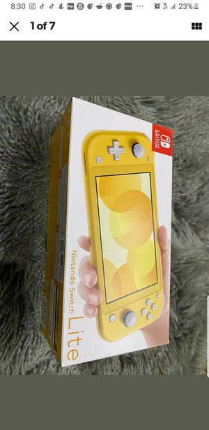 Yellow Nintendo Switch Lite for Sale in Washington, DC