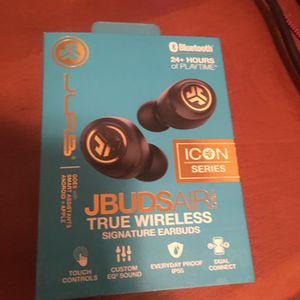 Jbuds Air Icon True Wireless Signature Earbuds for Sale in Marysville, CA