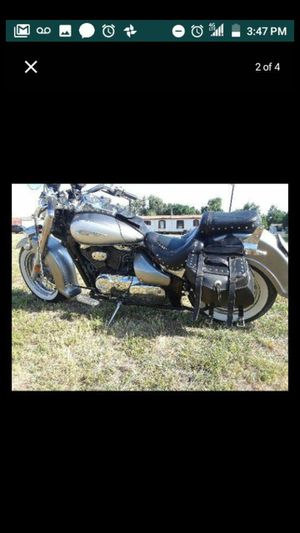 2002 Suzuki intruder , works great, 30k milles , has Bluetooth sound system, I alwsow do trades let me know what you got for Sale in Dallas, TX