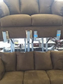New Ashley Furniture Cafe Polyester Sofa And Loveseats for Sale in Beltsville,  MD