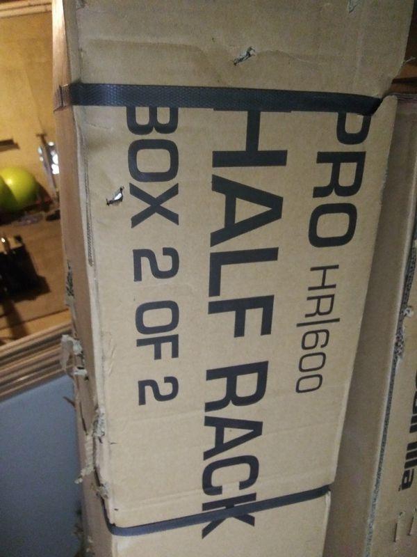 NEW IN BOX Half Rack