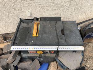 Ryobi portable table saw for Sale in Avondale, AZ